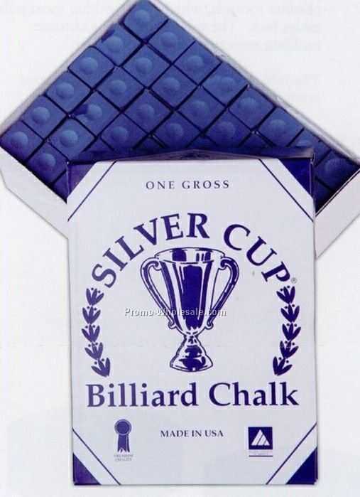 Custom Labeled Pool Chalk Box