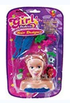 Girl Fashion Hair Designer Doll