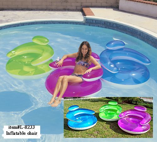 "Inflatable Bubble Kid Chair 23""x20"""