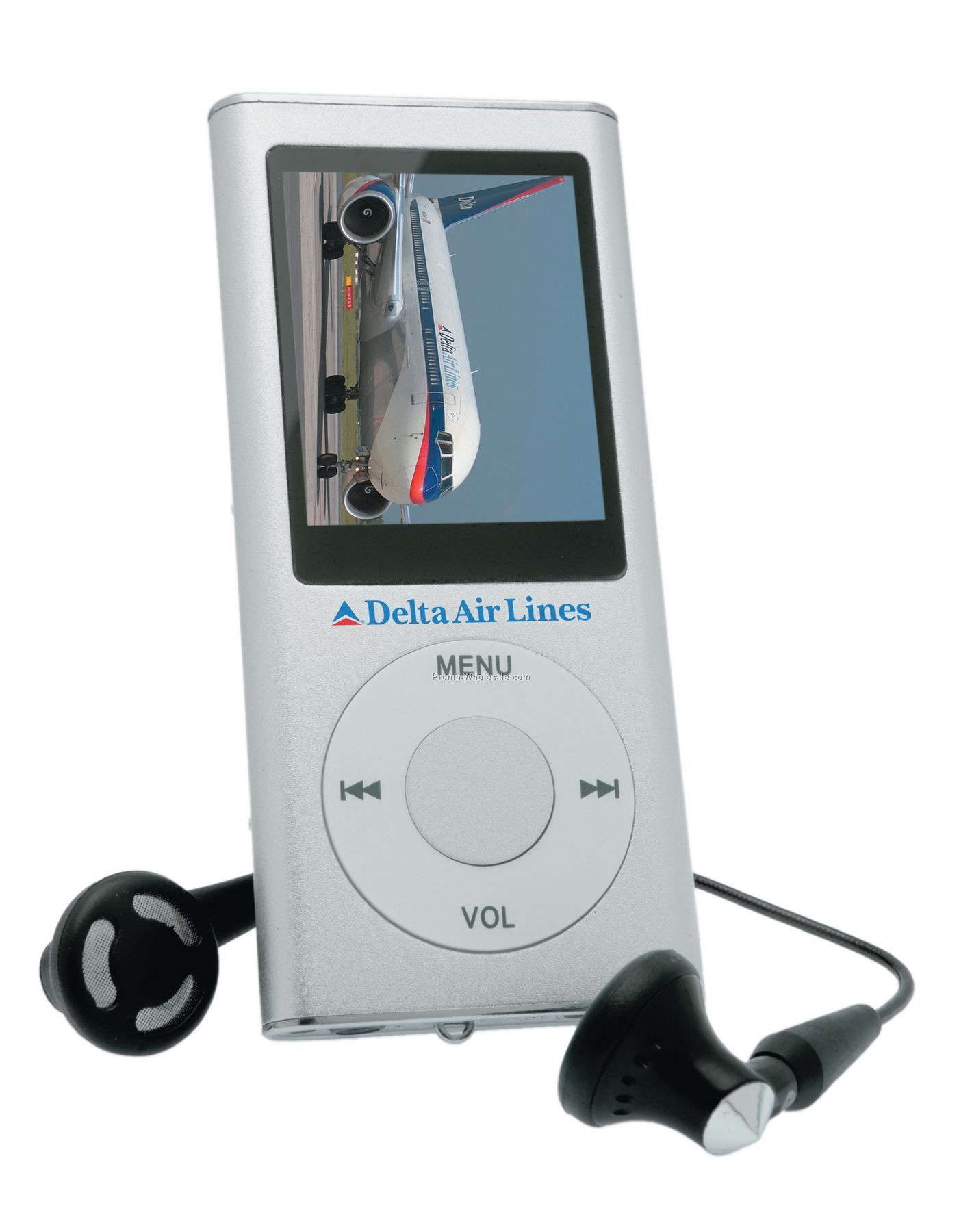 Juba Silver Portable Media Player - 1 Gb