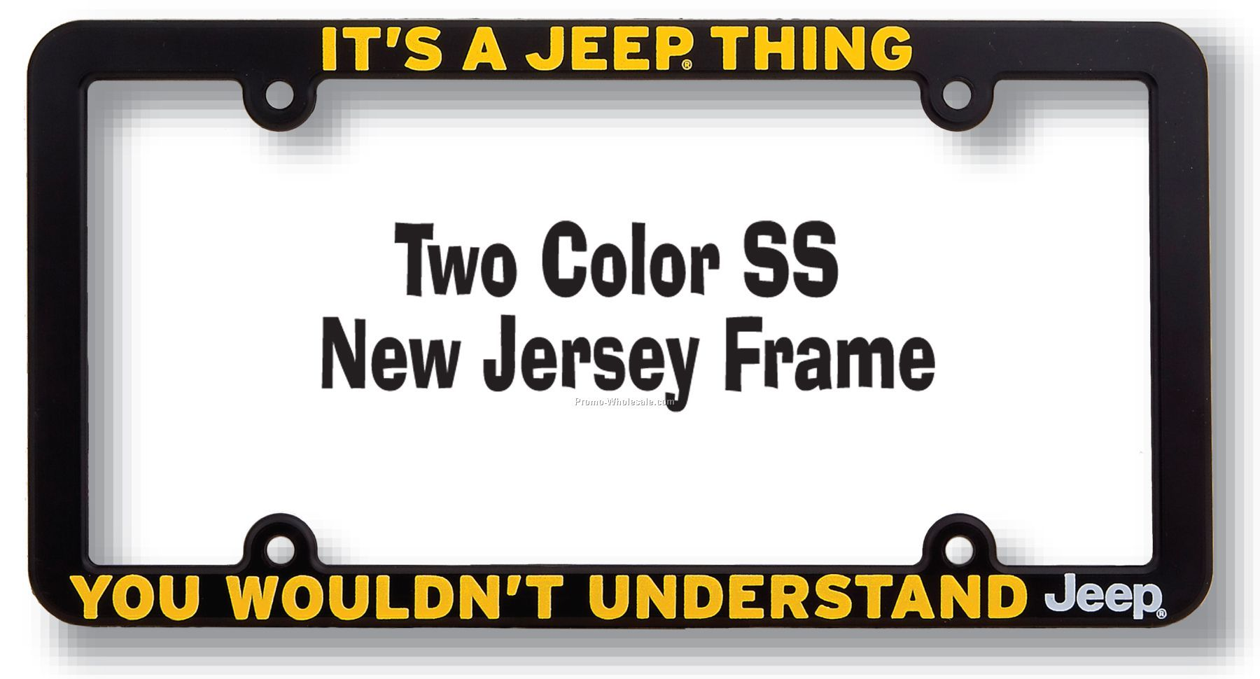silk screen customized license plate frame plastic license plate frame metal license plate frame