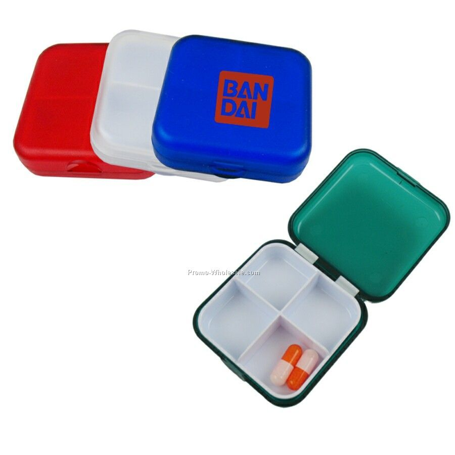 Square Pill Case