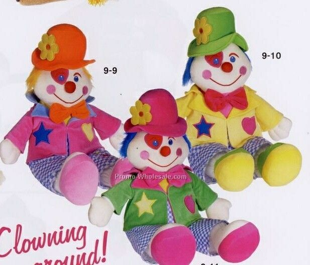 "32"" Happy Clown Doll"