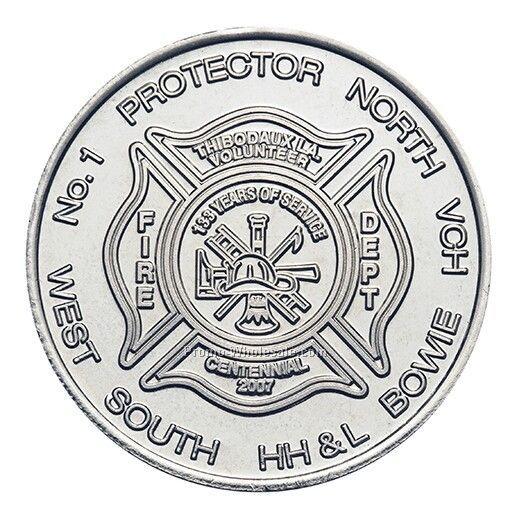 39mm Nickel-silver Custom Coin / Medallion (10 Gauge