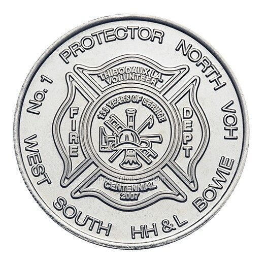 39mm Nickel-silver Custom Coin / Medallion (10 Gauge)
