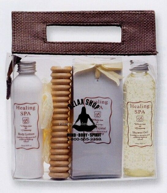 5 Piece Healing Spa Bath Kit
