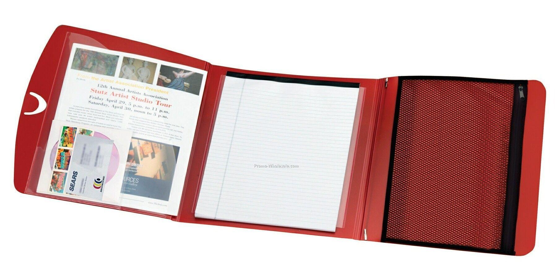Air-tex Tri-fold Polypro Padfolio
