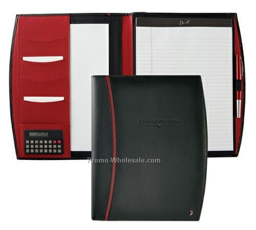 Barelli Leather Desk Folder