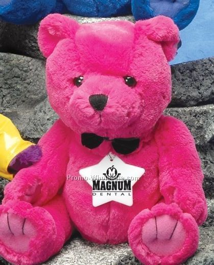 "Brite Guy Bears Pink Bear (10"")"