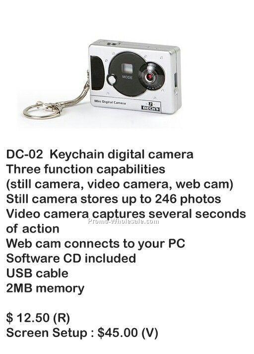Digital Camera, Video Camera, Web Cam, Stores Photos, 2mb Memory