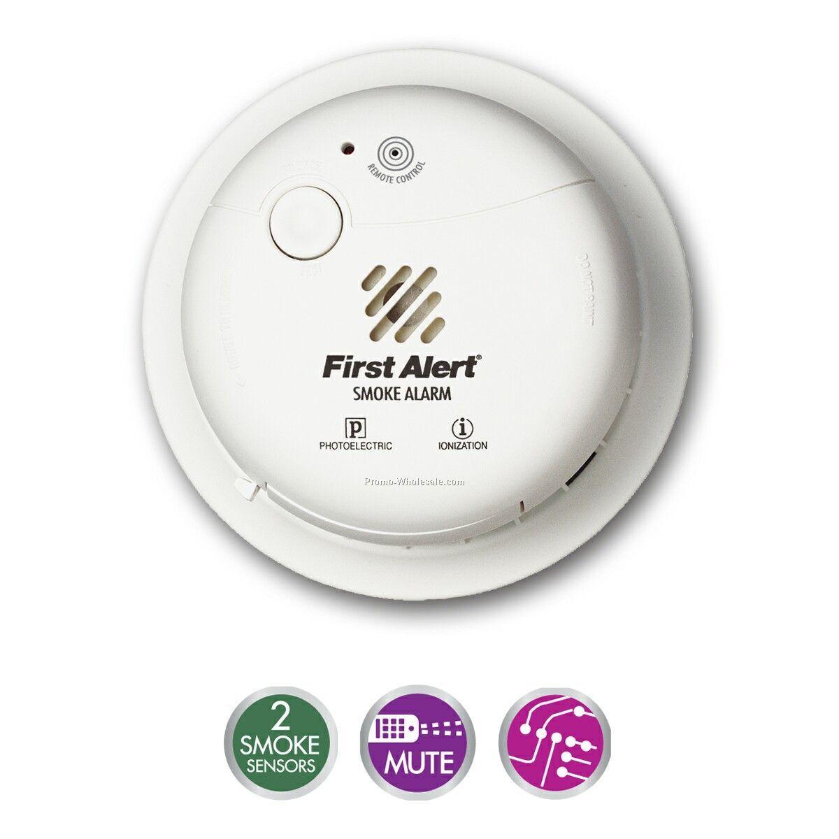 "Dual Sensor ""smart"" Smoke Alarm"