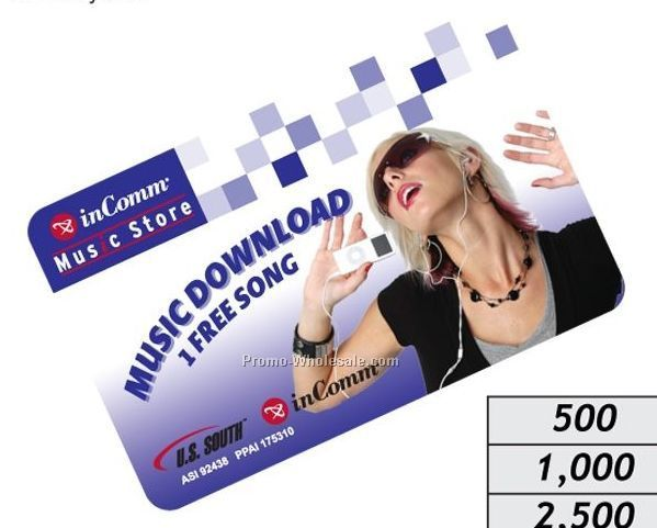 Emusic Prepaid Music Download Card - 1 Song