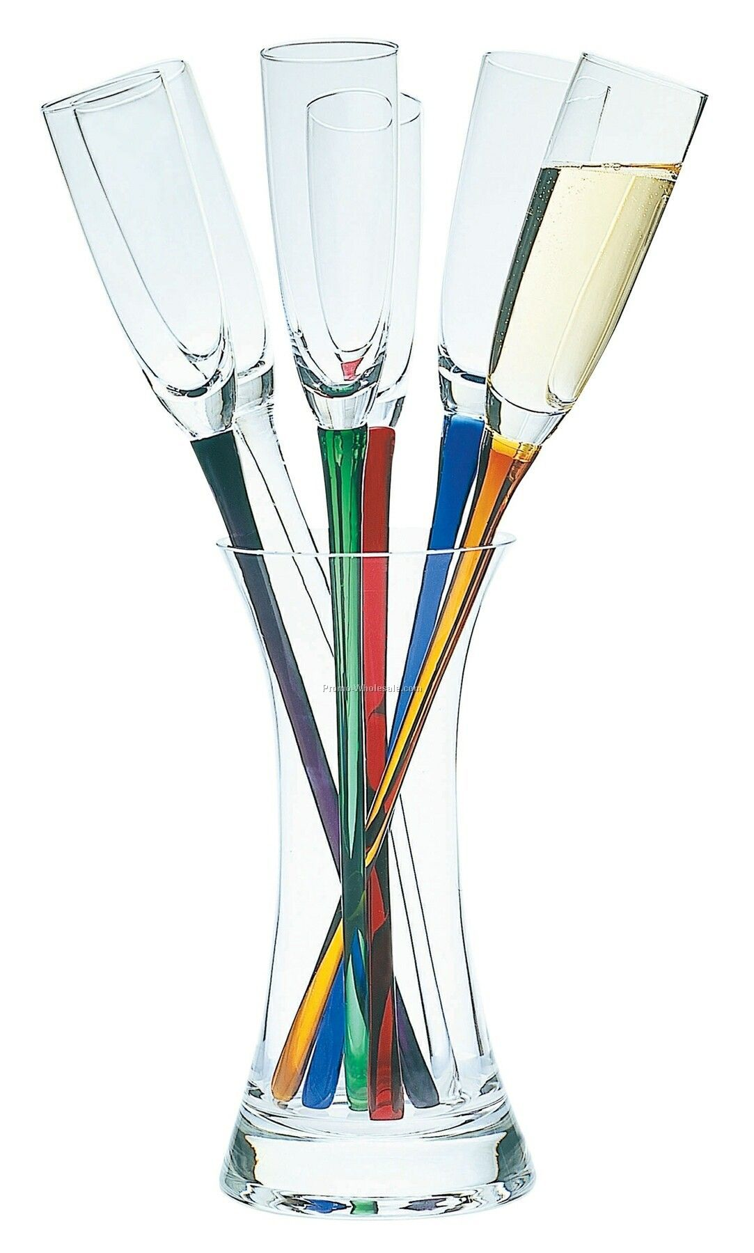 Champagne Glasses With No Base