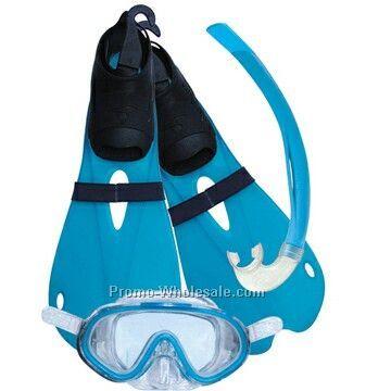 Kid Diving Sets (Mask,Snorkel,Fins)