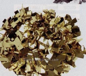 Metallic Silver Cheer Pom Pos (1024 Strand)