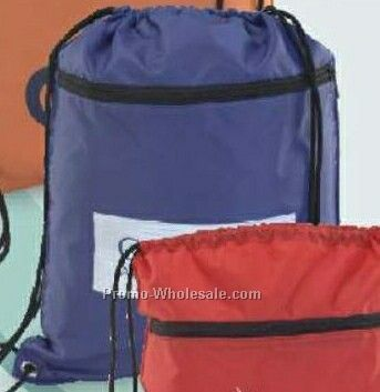 Multi-purpose Tote Bag / Backpack - Purple