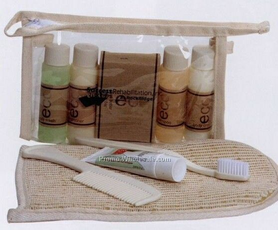 Natural Eco Spa Travel Set