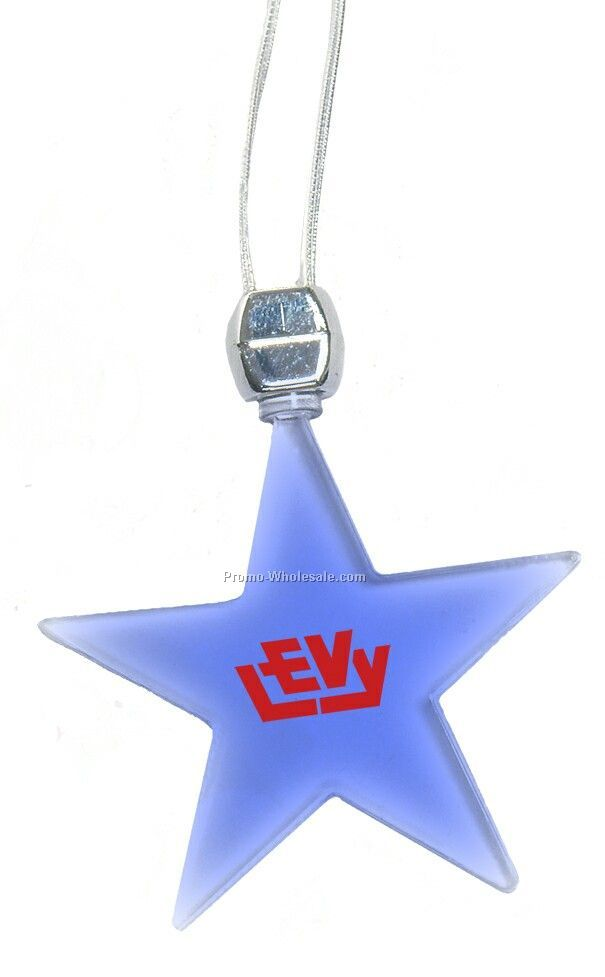 Star Light-up Pendant Necklace (Pink LED, Purple Led)