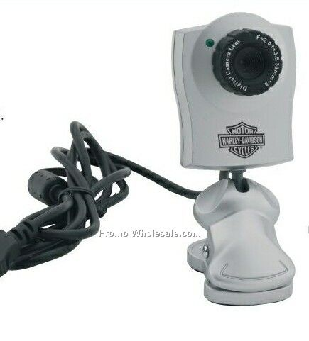 USB Webcam W/Clip & Adjustable Head