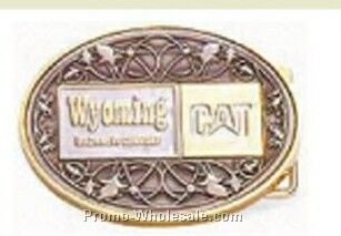 "2-1/2""x3-1/2"" Die-struck Belt Buckle"