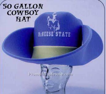 50 Gallon Foam Cowboy Hat W  Star a1c4746ca49