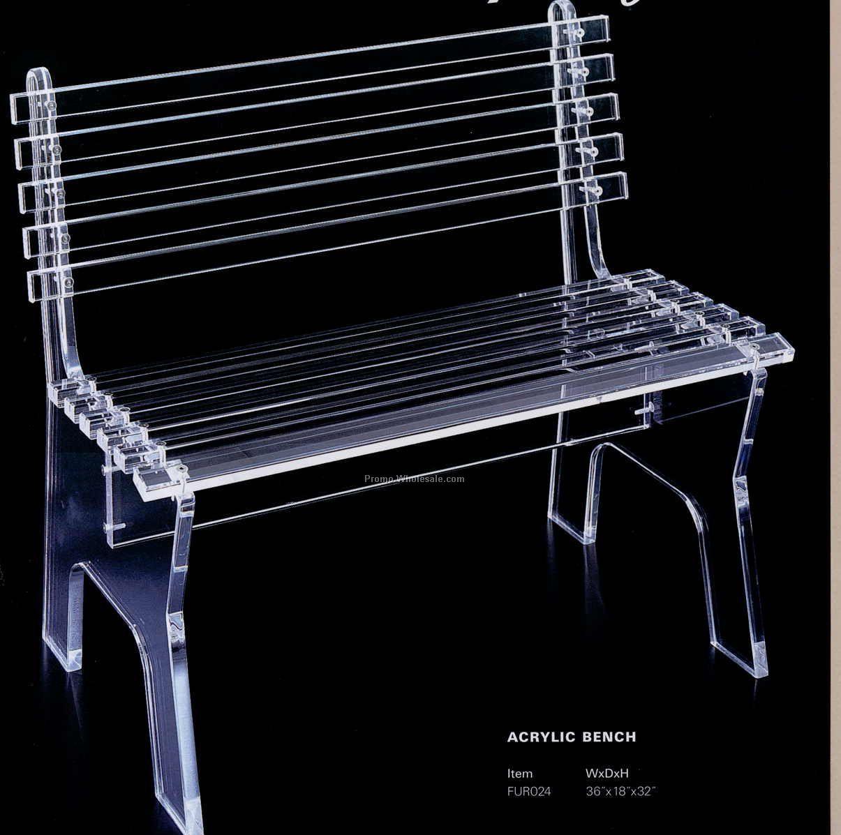 Acrylic Bench 36 Quot X18 Quot X32 Quot Wholesale China