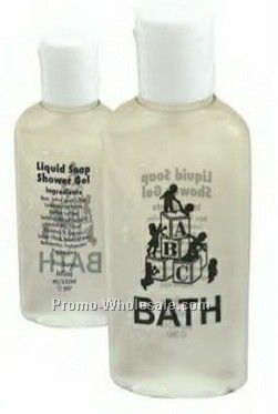 Antibacterial Hand & Body Wash - 1 Oz. Oval Bottle