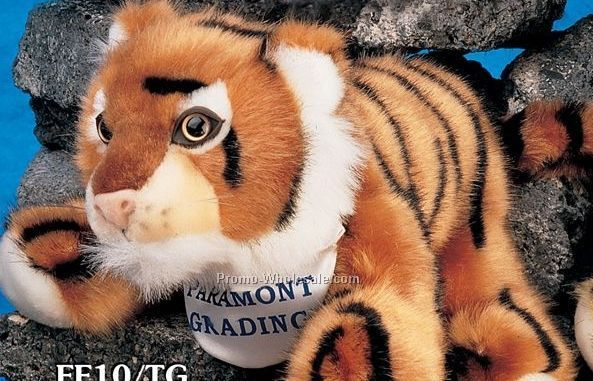 "Floppy Family Tiger Stuffed Animal (10"")"