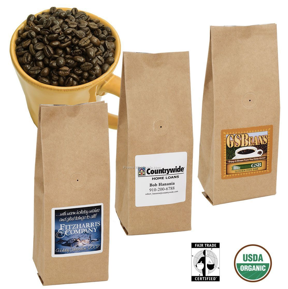 Organic Fair Trade Coffee (8 Oz.)