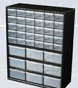 small parts storage cabinets w plastic drawers - chest of drawers