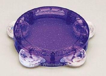 Plastic Glitter Tambourine