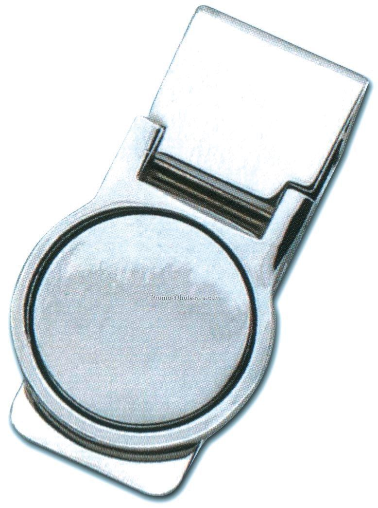 Round Metal Money Clip