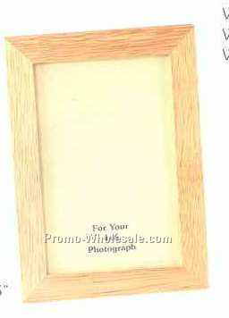 "Simple Wood Frame- 5""x7"" (Wood Grain)"