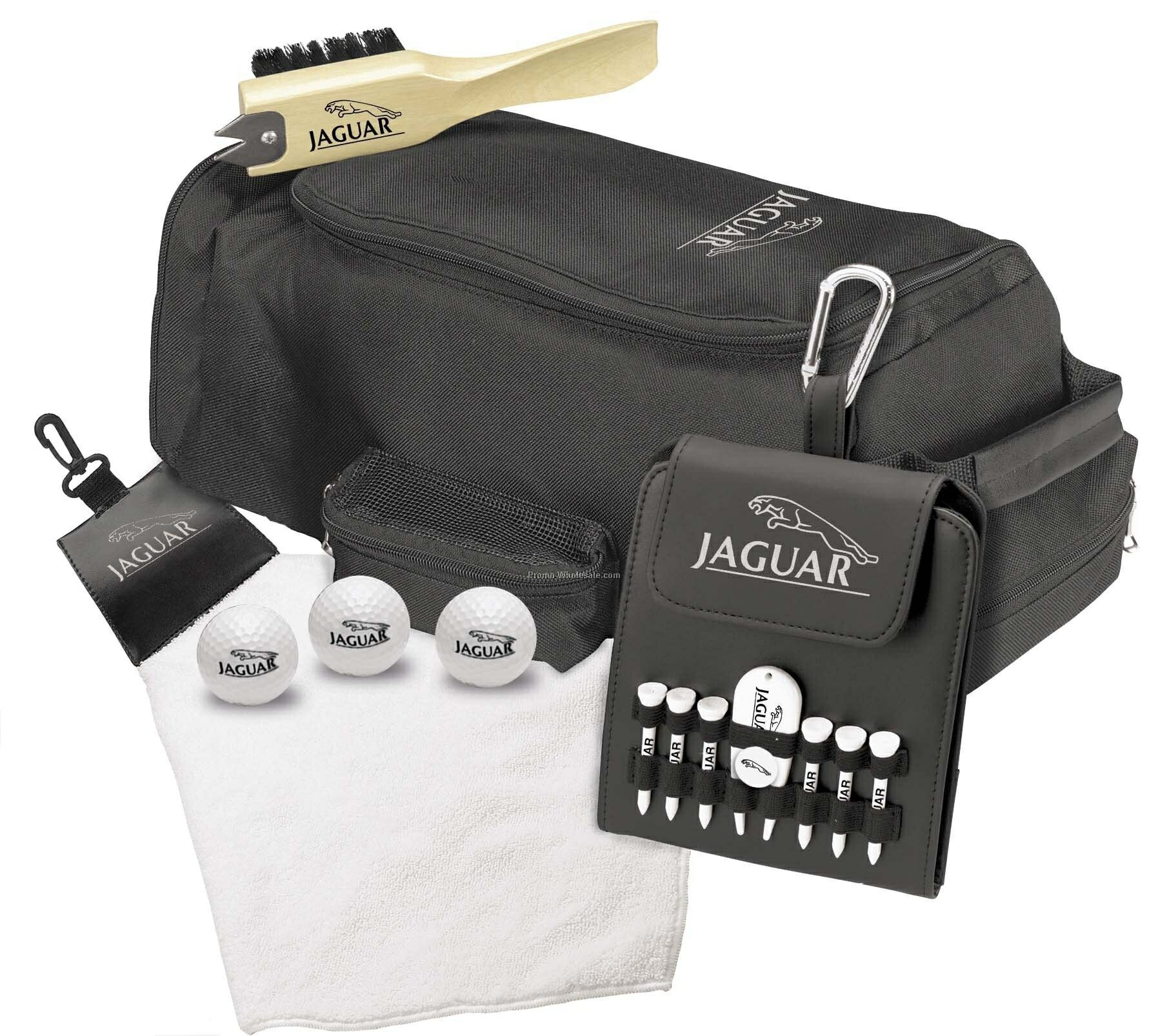 Tee Off Club House Travel Kit W/3 Titleist Nxt Extreme Golf Balls