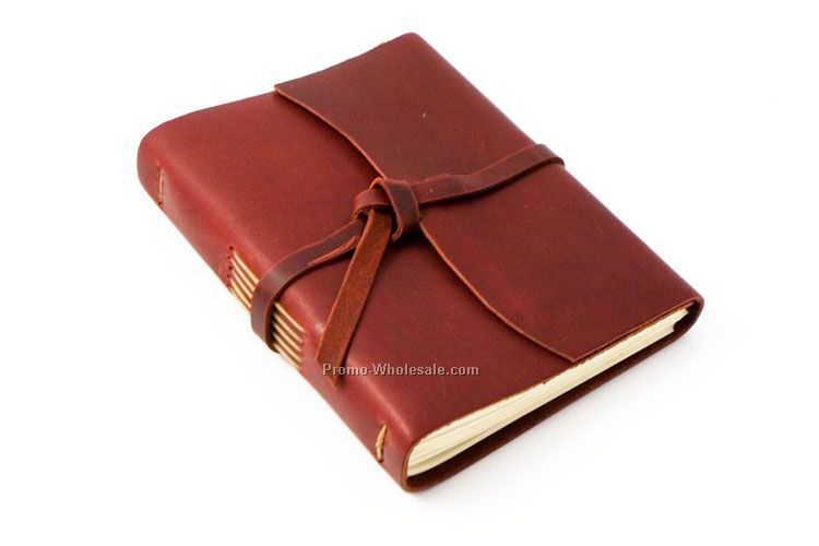 The Good Book Leather Journal
