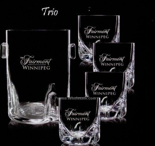Trio Ice Bucket & 4 Dof