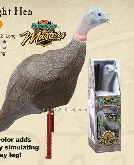 Turkey Decoy - Upright Hen