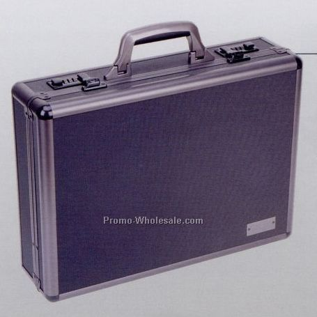 "18""x13""x5"" Aluminum Continental Attache Case"