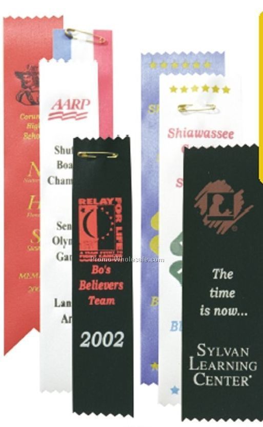 "2-1/2""x10"" Bookmarks / Award Ribbons"