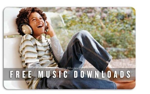 3 Songs Music Download Card