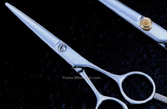 "5.0"" Professional Quality Japanese Shears W/ Silver Finger Tip"