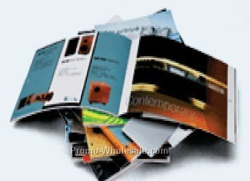 "8-1/2""x11"" Multi-page Catalog W/ 24 Pages"