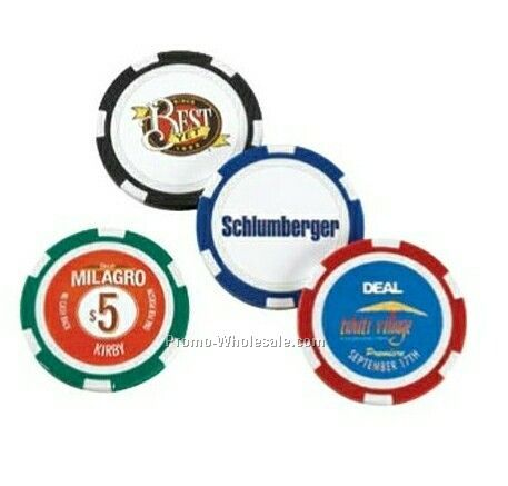 """Chips 1-1/2"""" High Quality Poker Chip"""