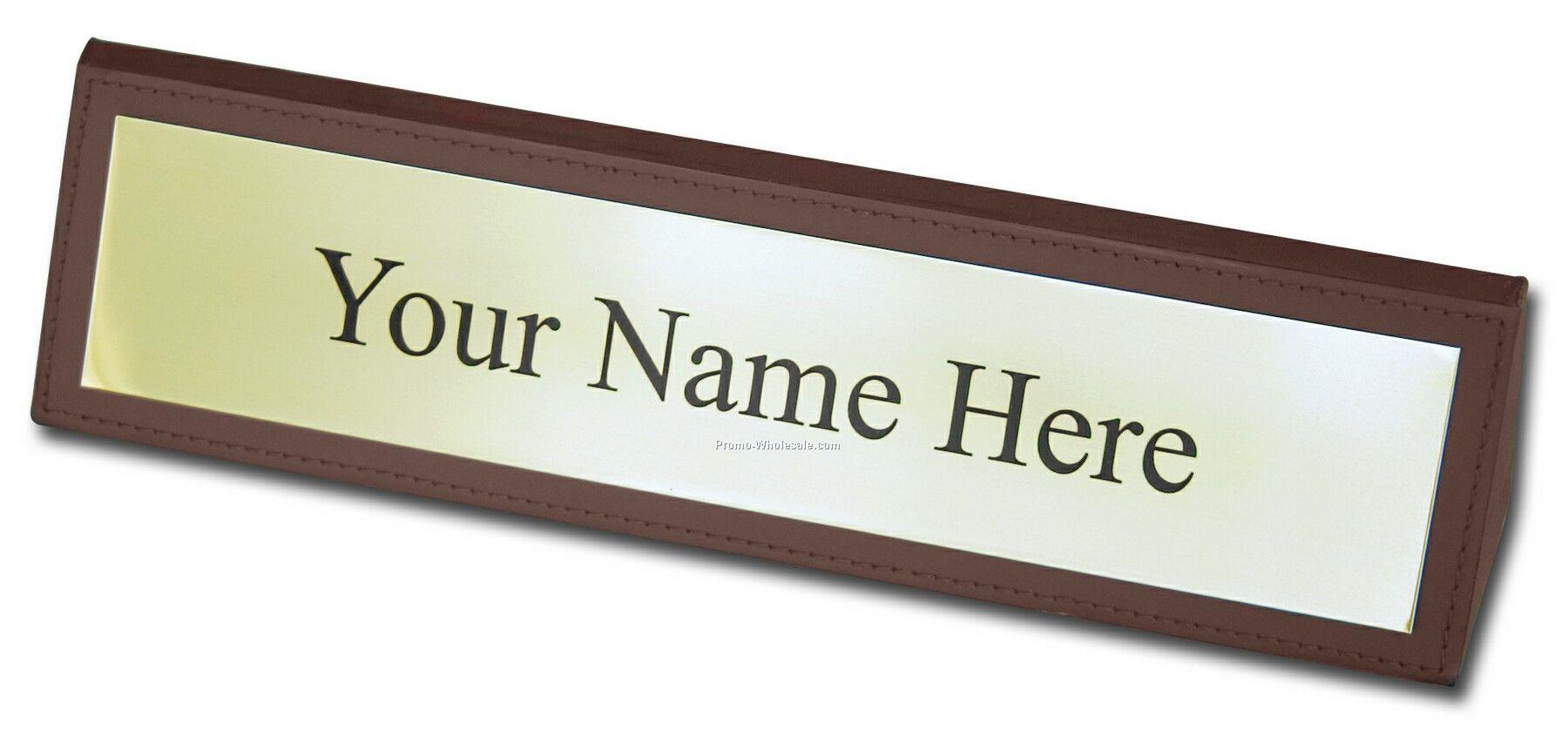 Name Desk Plate Hostgarcia