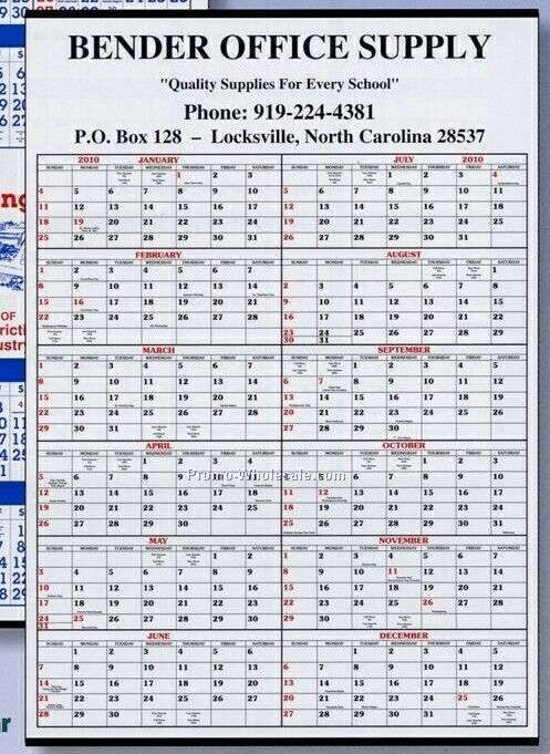 Year Up Calendar : Daily memo year in view dry erase calendar after