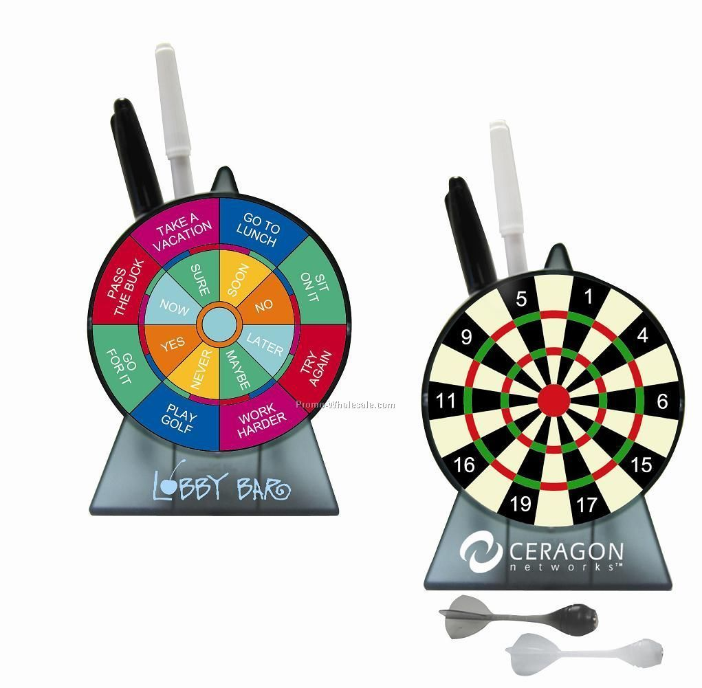 Dart Board Pen Holder