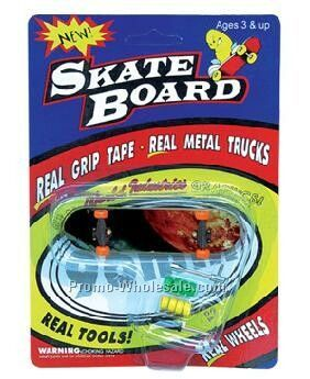 Finger Skateboard With Blister & Card Packaging,Wholesale china
