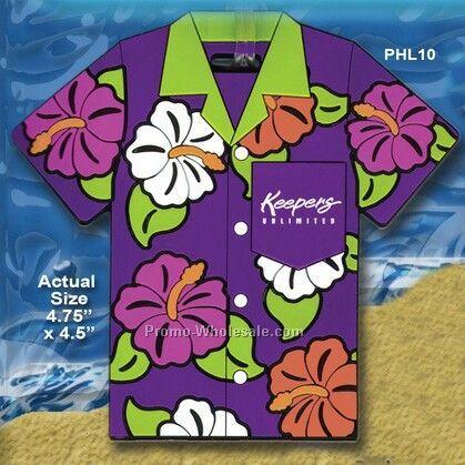 Hawaiian Luggage Pvc Hawaiian Shirt Luggage Tag