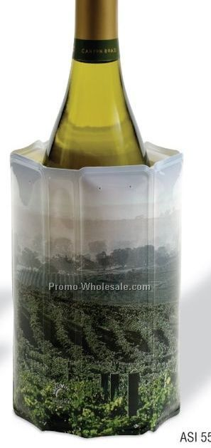 Rapid Ice Wine Chiller Sleeve With Vineyard Design