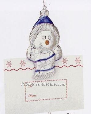 Stampin' Up! Vintage Skating Boot Gift Card Holder and Christmas